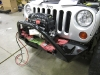 Front Bumper Installed with WARN Winch Mocked Up
