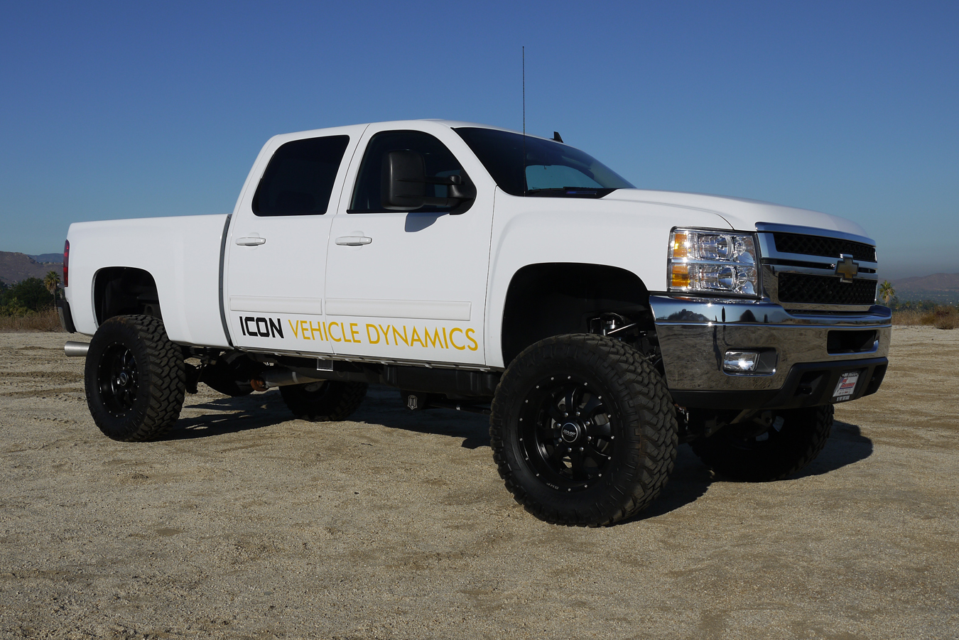 "ICON Vehicle Dynamics - 2011 Chevy 2500HD 4wd with 5-8"" Lift Kit"