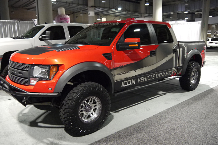 ICON vehicle Dynamics - Ford Raptor