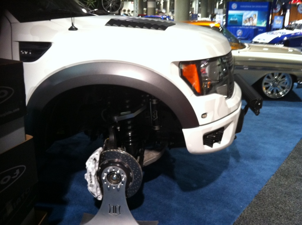 ICON Vehicle Dynamics 3.0 Suspension on the Street Concepts Ford Raptor
