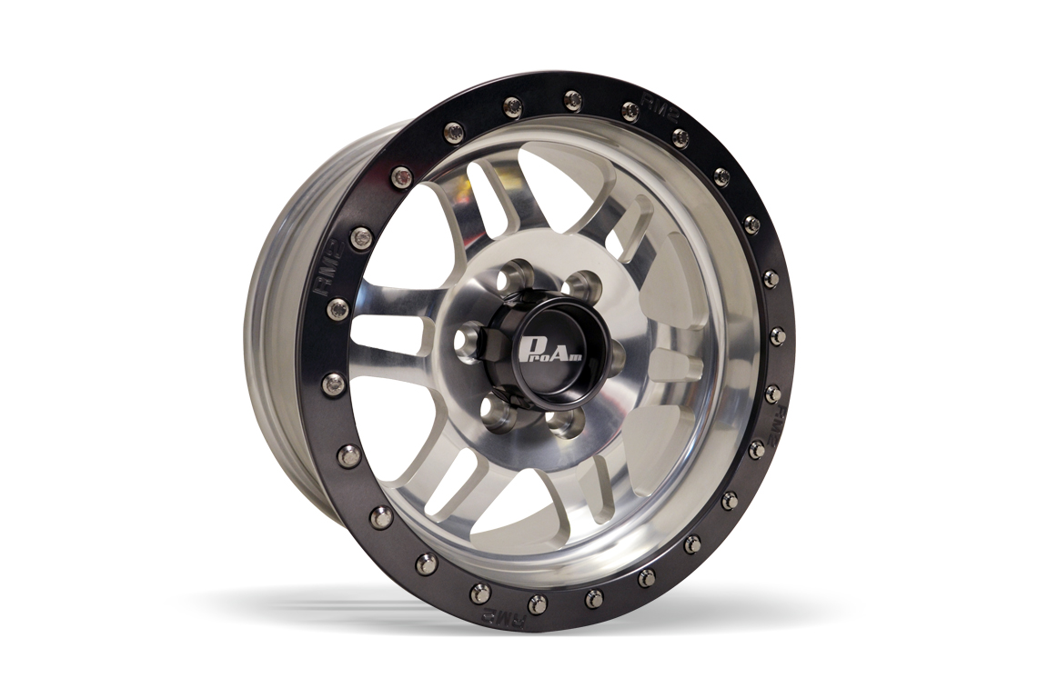 "ProAm Racing Products - Ford Raptor SVT - 17"" x 8.5"" RM2 Forged Beadlock Wheel"