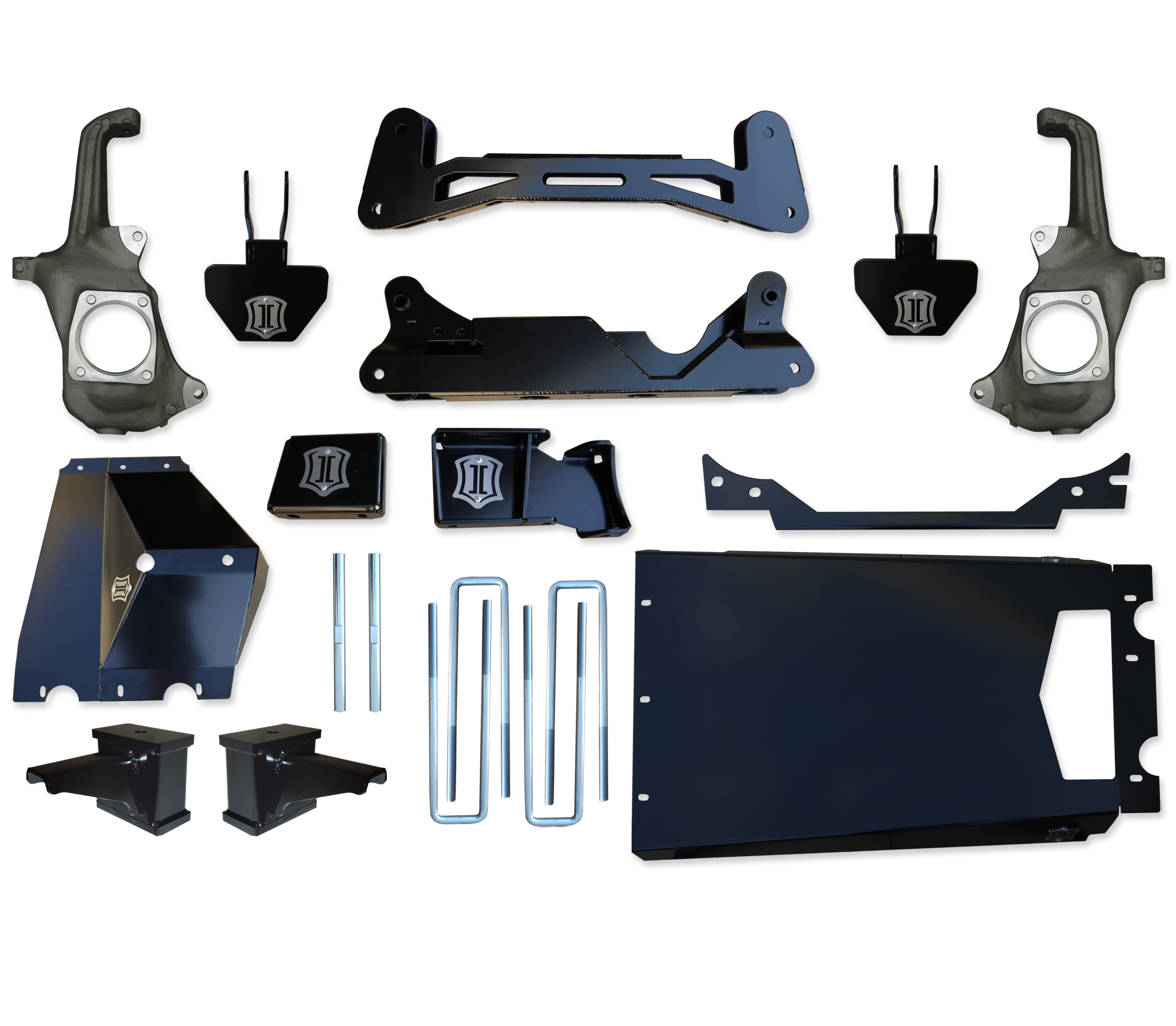 "2011+ Chevy & GMC 2500HD / 3500 5"" - 8"" Suspension System - Torsion Drop"