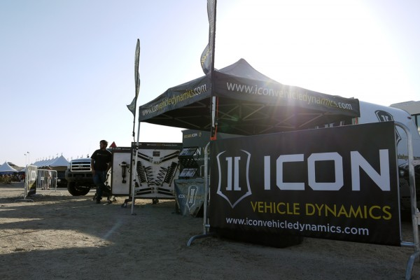 Icon Vehicle Dynamics' Tierra Del Sol Booth
