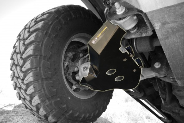 ICON Vehicle Dynamics Raptor Lower Control Arm Skid Plate System