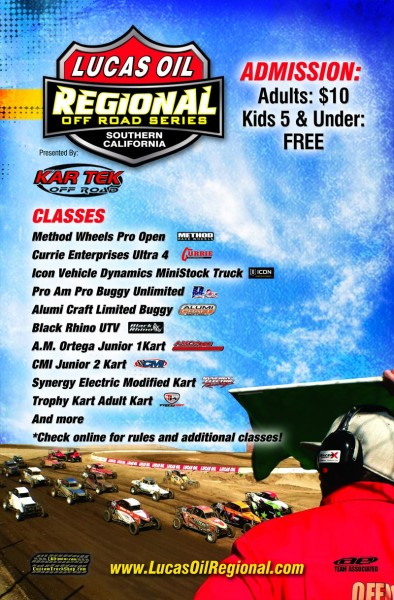 Lucas Oil Regional Series - Southern, California