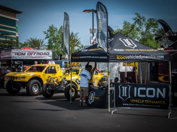 ICON Pits at the Silver State 300