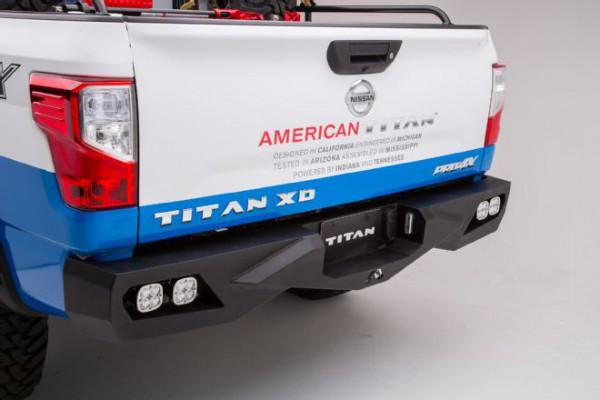 013-2016-nissan-titan-xd-cummins-diesel-sema-fab-fours-vengeance-rear-bumper-with-led-light-pods
